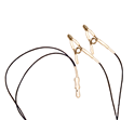 Silver Flat Linked Ear Clip EEG Electrodes by IMA Electronics